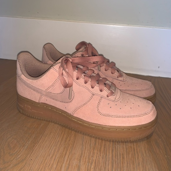 Air Force Low Particle Pink Gum   Poshmark